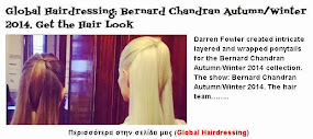 Bernard Chandran Autumn/Winter 2014. Get the Hair Look
