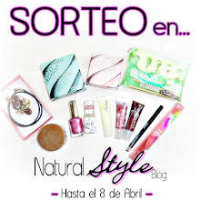 sorteo en el blog NAtural style
