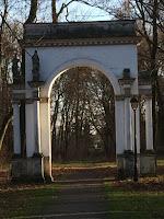 Park Jabłonna koło Warszawy