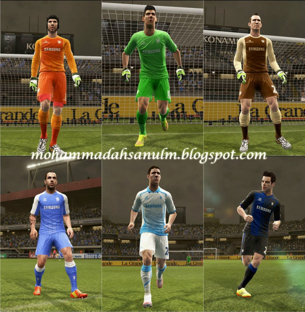 PES 2013 Chelsea Fantasy Kits by Sourcekv