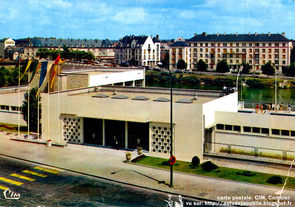 Pontoise - Piscine de l'Hôtel Dieu  Architecte: Letu , Jean ?  Construction: 1960  Destruction: 2002