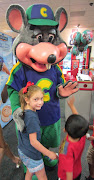 First off did you know that Chuck E. Cheese comes out every half hour and .