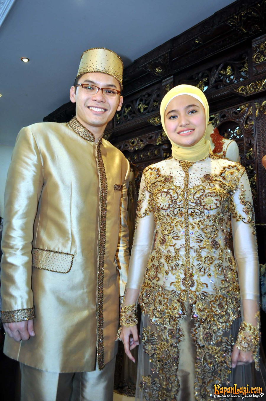 pengantin gittewhehehe :) Can't wait for that day lahsure