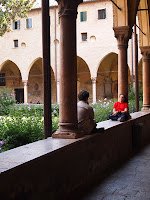 chiostro della magnolia basilica di Sant'Antonio a Padova