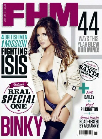 Binky Felstead - FHM UK January 2016 PDF Download