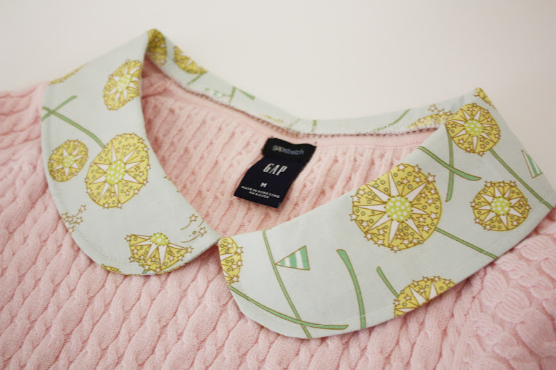 How To Add A Peter Pan Collar To Any Top Sew Much Ado