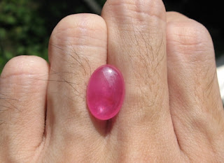 Natural Pink Ruby Madagaskar