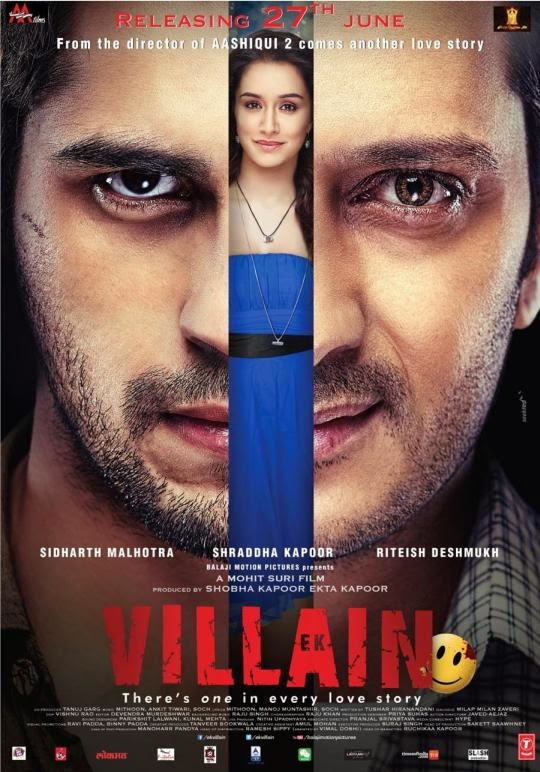 Ek Villain (2014) Watch Online Full Movie Free Download Hindi Movie 350MB DVDScr 480P