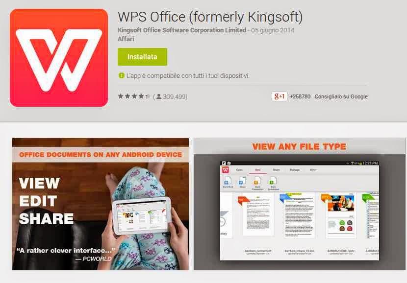 aplikasi android gratis keren wps
