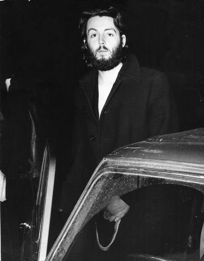 This Is The Last Photograph I Can Locate Of Paul McCartney With His Get Back Beard Early 1969 Before He Went To Clean Shaven That We All