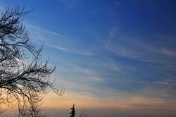 Knackekalter Himmel...
