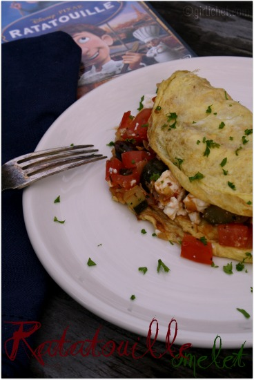 <b>Ratatouille Omelet</b>  <i>{Food &#39;n Flix}</i>
