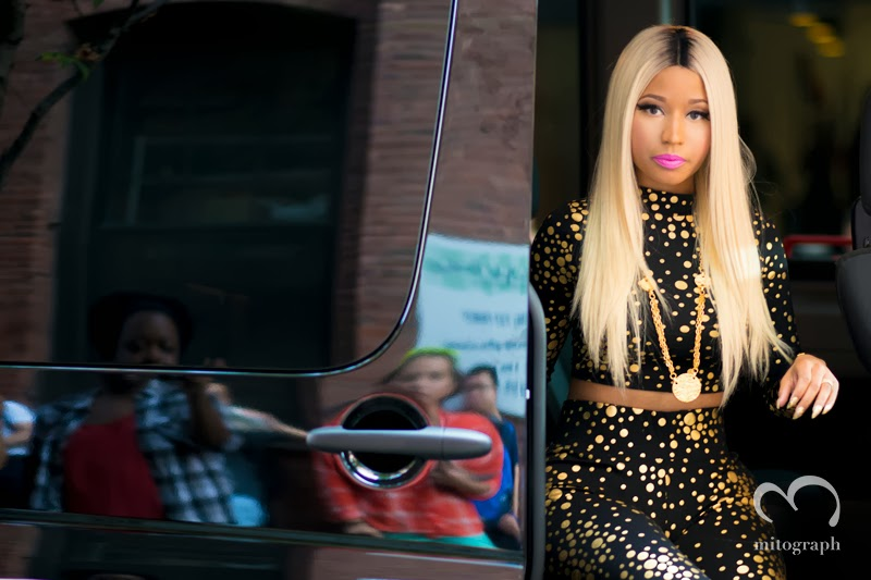 mitograph Nicki Minaj Before Jeremy Scott New York Fashion Week 2014 Spring Summer NYFW Street Style Shimpei Mito