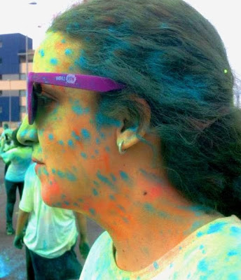 holi run, holi run madrid, colores, carrera de colores