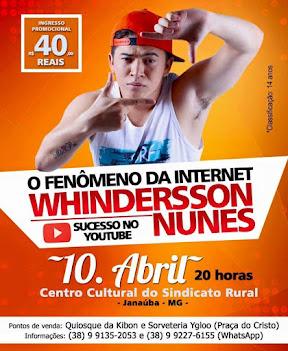 Whindersson Nunes em Janaúba