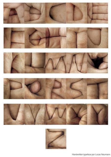 Lucas Neumann type made with hands