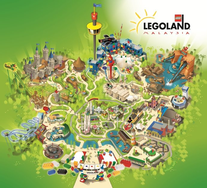 LEGOLAND at Johor Malaysia ! | i ~talk~ wat i want to