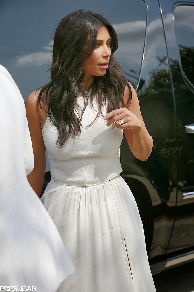 kim kardashian at ciara baby shower
