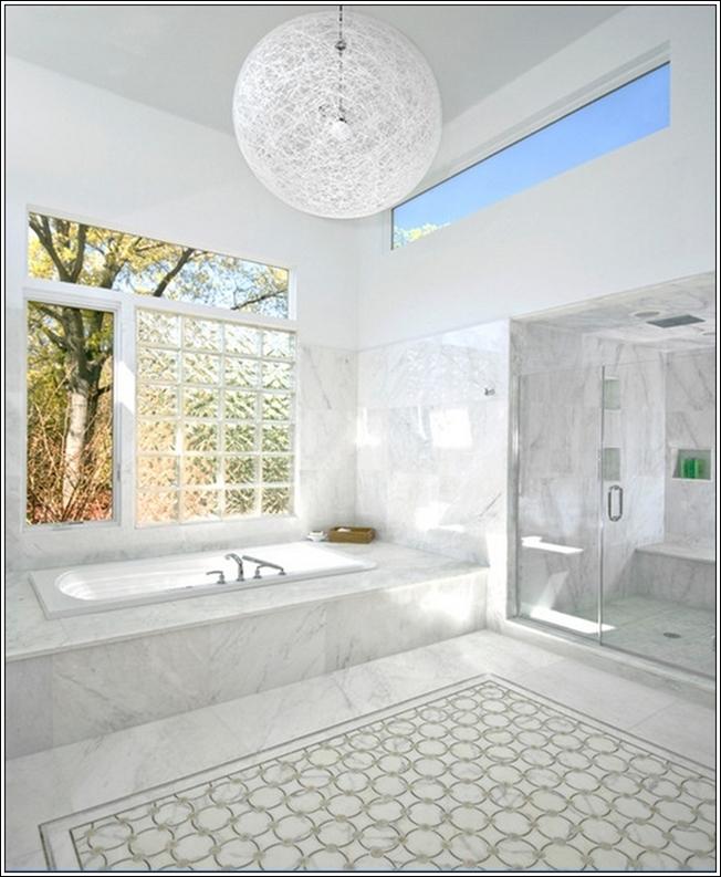 Concevoir votre salle de bains en marbre d cor de maison for Marbre decoration