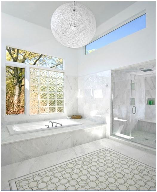 Concevoir salle de bain concevoir votre salle de bains en marbre d cor de - Concevoir sa salle de bain ...