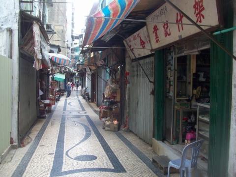 الأسواق في مكاو