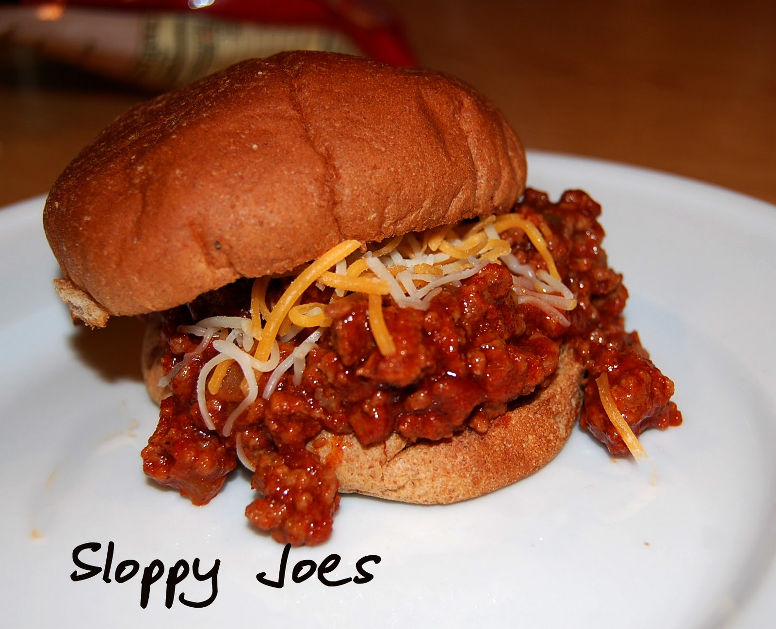 Sloppy Joes (adapted from Pinch My Salt )