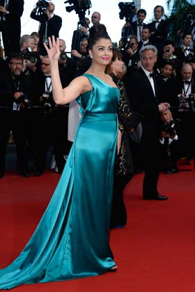 Aishwarya in Cannes 2013 Sills