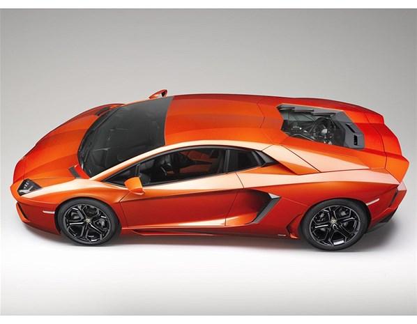 Lamborghini aventador Orange wallpaper - Car Wallpaper