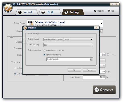 Fast Converting SWF to WMV | iPixSoft SWF to WMV Converter