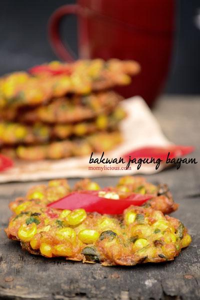 Bakwan Jagung Bayam