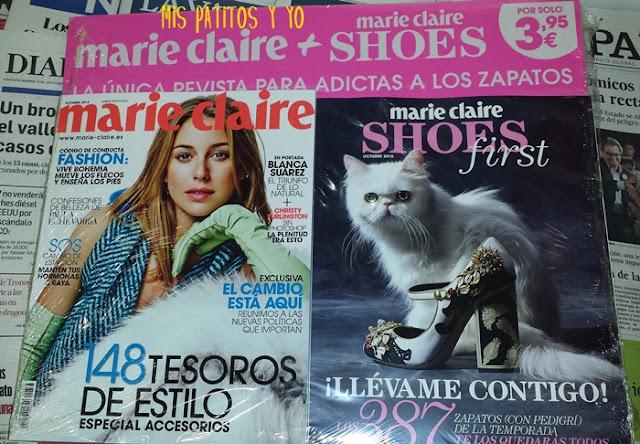 Marie Claire Octubre 2015