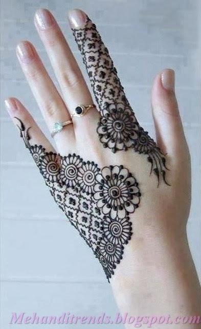 Simple Hand Back Side Mehandi Designs8  Mehandi Designs