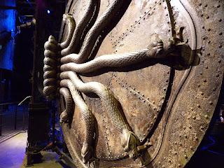 Porta Camera dei Segreti Harry Potter Londra