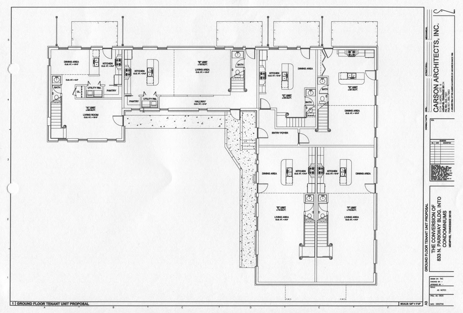 Lost Memphis 26 Pkwy Seventh Day Adventist Crme De Memph Claw Schematic This Is The Ground Floor Which Contained A Living And Dining Room Kitchen 1 2 Bath In Each Unit