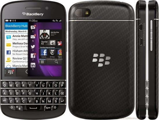 Blackberry Q10 Harga Terbaru Januari 2014