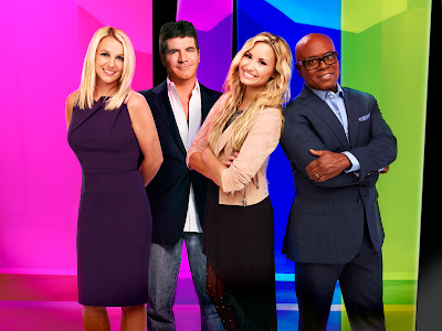 The X Factor USA Season 2 Judges: Britney Spears, Simon Cowell, Demi Lovato and L.A. Reid