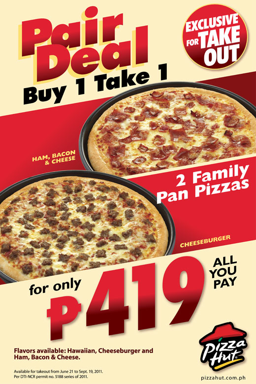 Pizza hut take out coupons