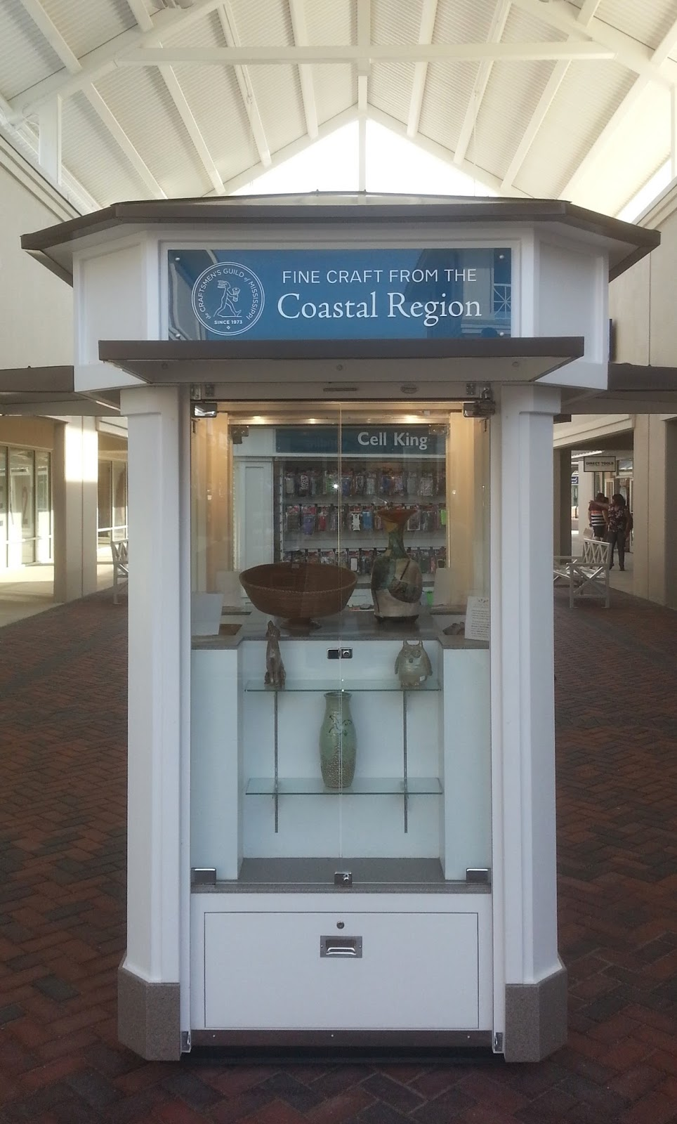 Coastal Region Kiosk_Craftsmen's Guild of MS