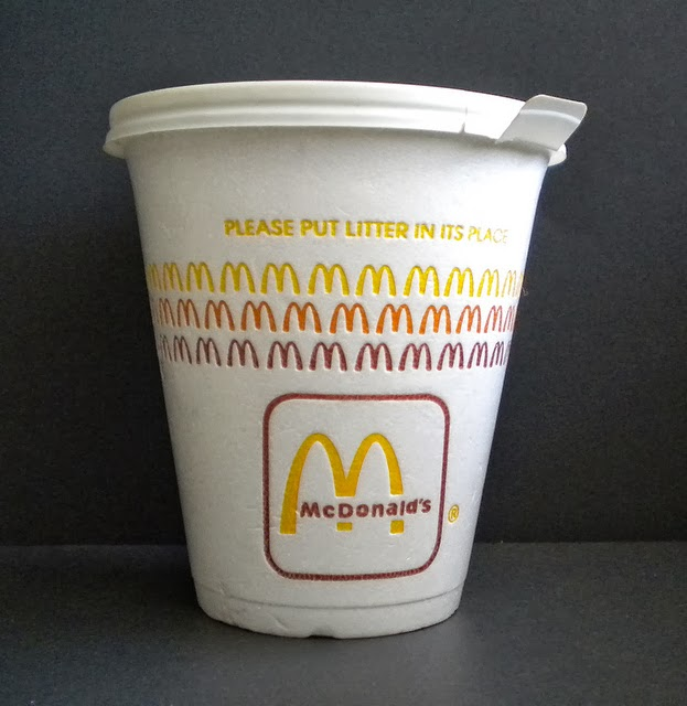 Old McDonald's coffee cup