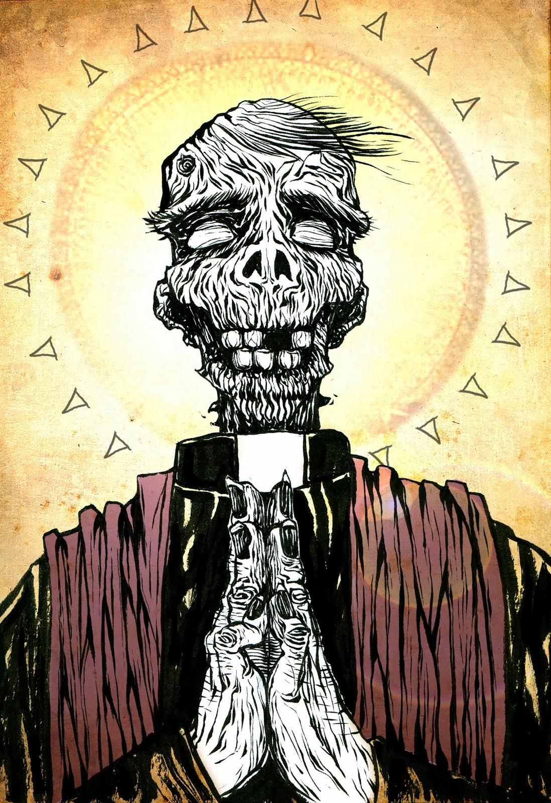 codesto blog è benedetto dal prete zombie...