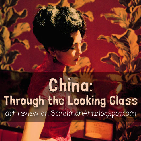 art review on chinese fashion @metmuseum #ChinaLookingGlass #AsianArt100 http://schulmanart.blogspot.com/2015/07/eastern-culture-meets-western-fashion.html