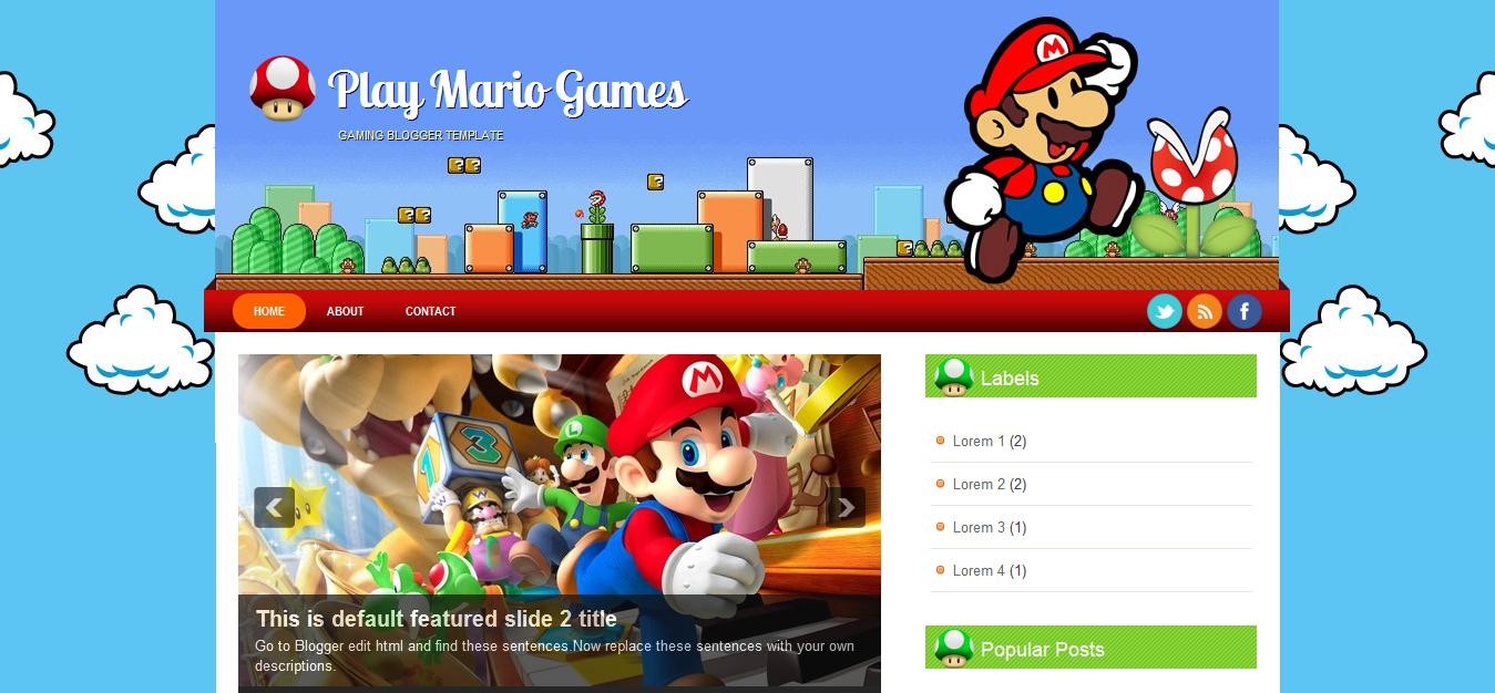 Play Mario Game