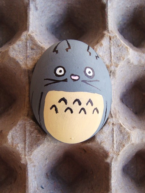 Huevo de Pascua de Totoro