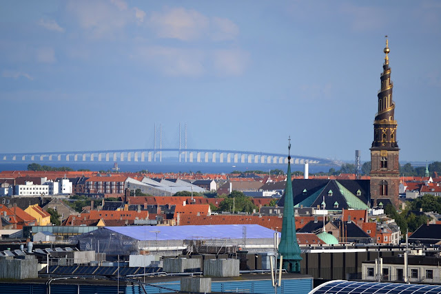 View from Rundetaarn: Oresund Bridge