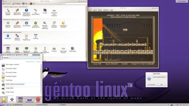 Linux Gentoo 1