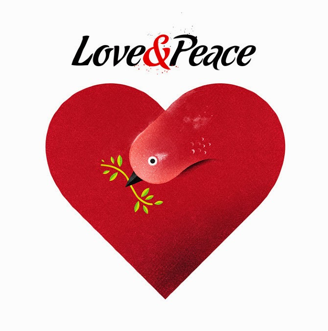 Why to spread love and peace all over the world for World love images