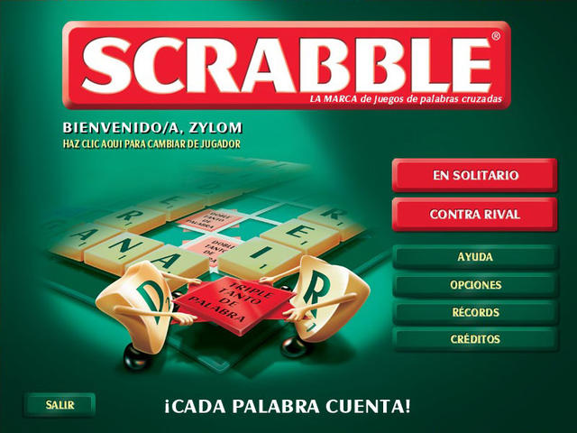 Sorialifeonline scrabble juego de palabras for Juego de mesa sin palabras