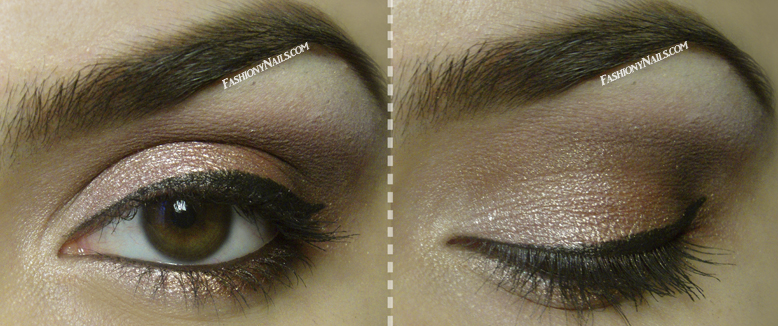 Eye makeup : Inked in Pink