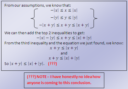 Ask a Math Geek: The Triangle Inequality Theorem