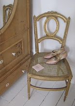 Giltwood chair....